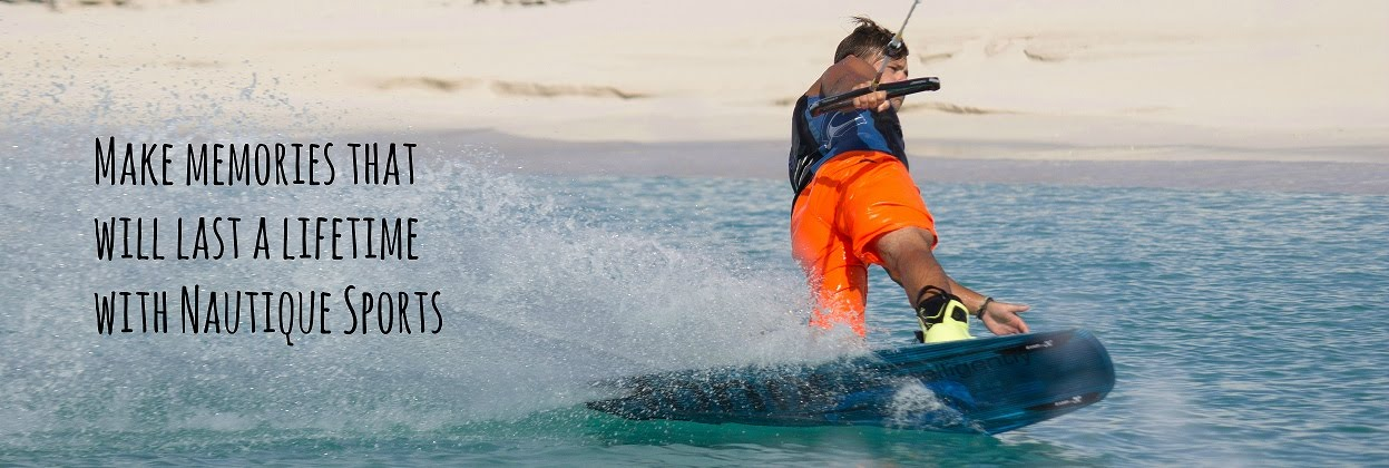 Wakeboarding with Nautique Sports in the Turks and Caicos Islands