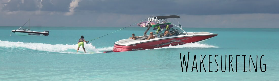 Wakesurfing in the Turks and Caicos Islands with Nautiue Sports