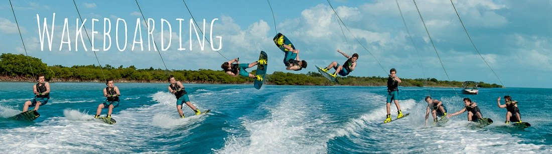 Wakebarding in the Turks and Caicos Islands with Nautique Sports